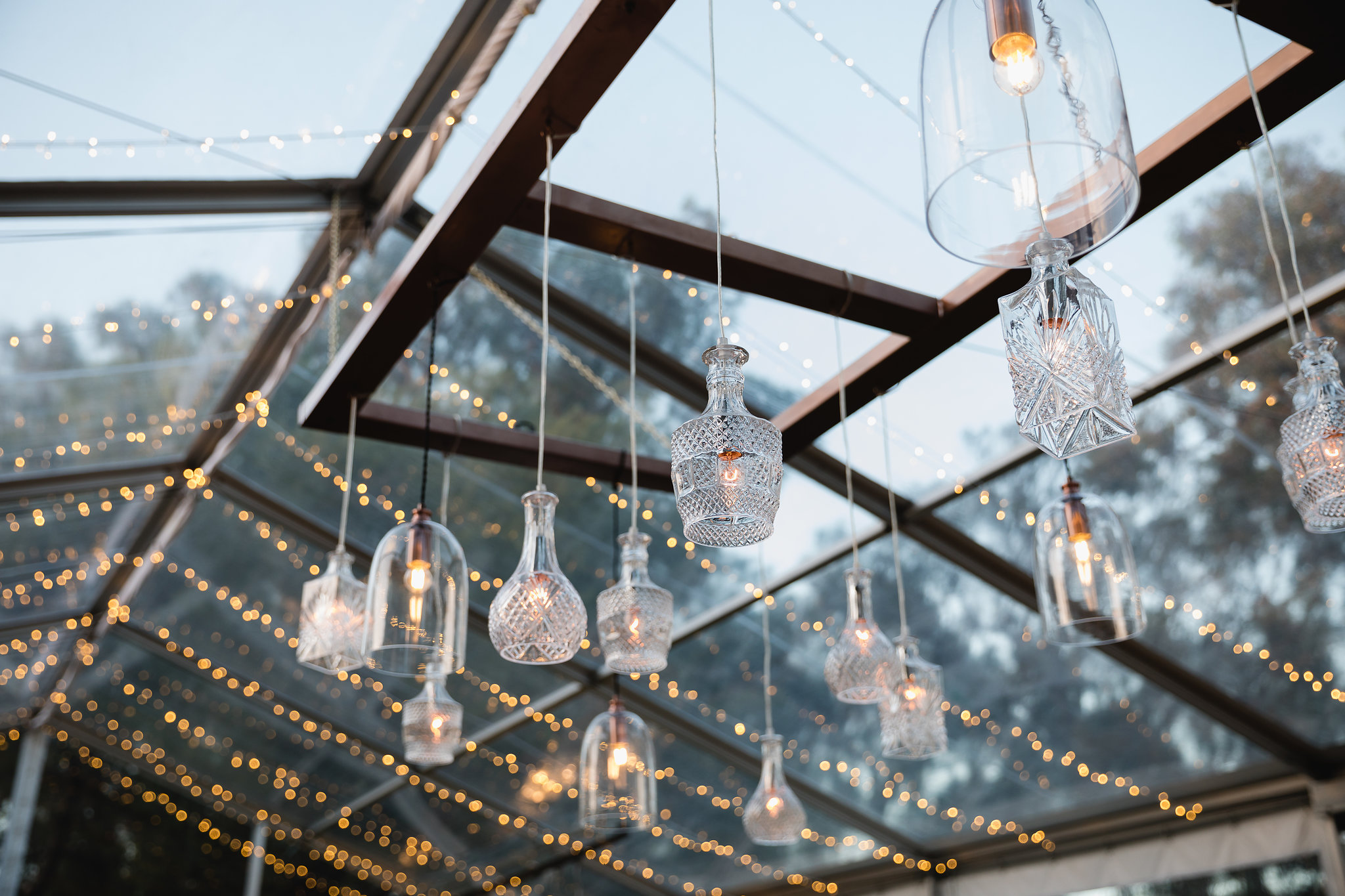 clear marquee for weddings and events in the south west | Wedding Decor & Lights